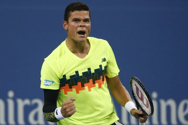 Milos Raonic, Canadian tennis pro who is the highest ranked player in Tennis Canada history.