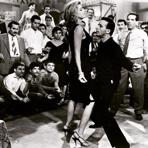 Melina Mercouri #sixties #dancingmood Στου Παραδείσου τα μπουζούκια θα με πας,  κι αφού χορέψουμε και πάψει ο σαματάς εφτά τραγούδια θα σου πω...