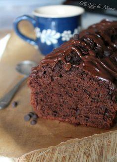 plumcake al cioccolato fondente e ricotta