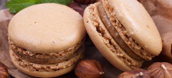 Ricetta Macaron alla nocciola una delle migliori ricette Macarons della cucina italiana. Il livello di difficoltà è medio.