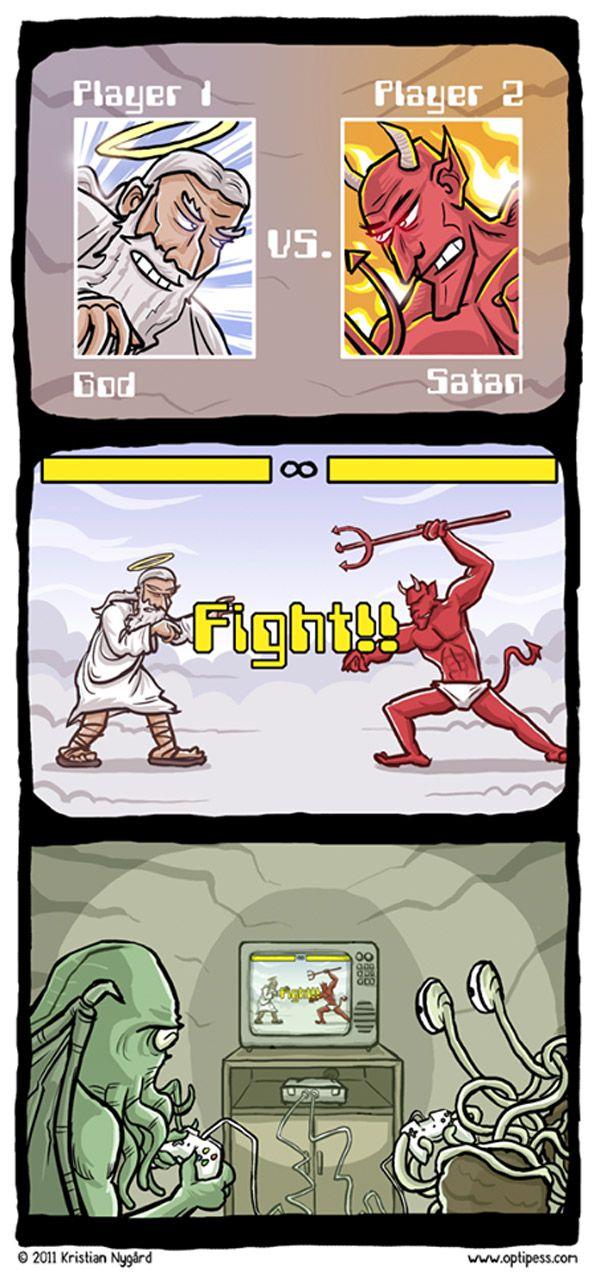 Dios vs Diablo
