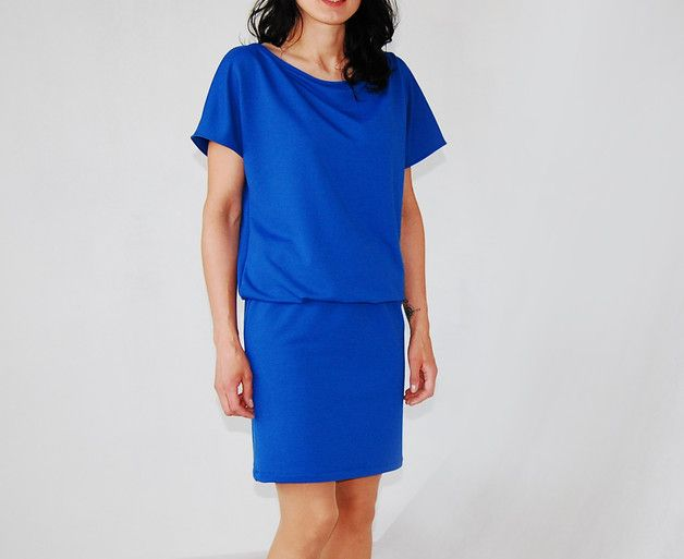 46 | sukienka 'nietoperz' - collibri9 - Sukienki