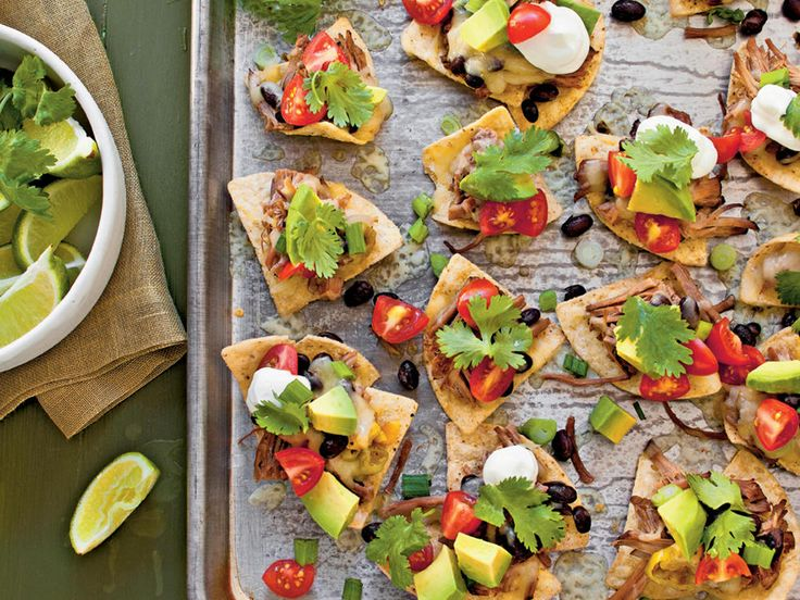 "Slow-Cooker Beef Nachos | From the Kitchen of Julie Hutson, Callahan, Florida. ""This is surprisingly yummy to have such simple ingredients."""