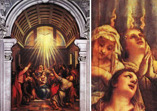 11 best pentecte images on pinterest catholic catholic art and la descente de lesprit saint titien fandeluxe Images