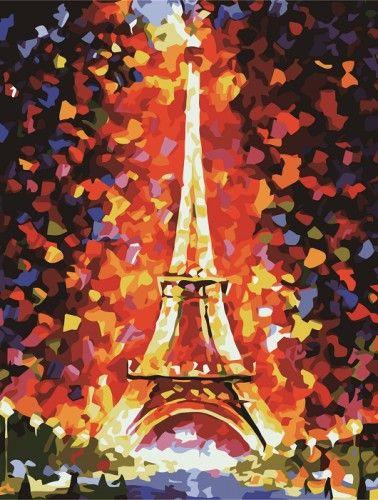 Wieża Eiffla- to jeden z najbardziej romantycznych obrazów w naszej kolekcji.