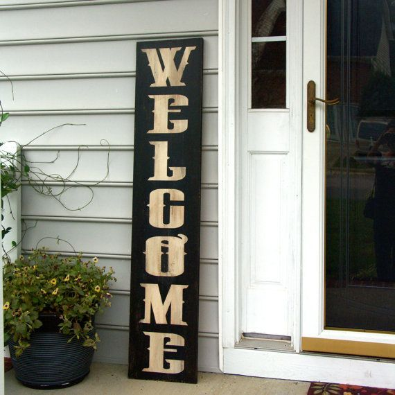 17 Best Images About Welcome On Pinterest Summer Porch