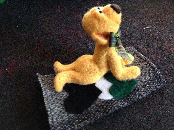 Yoga Bear Cobi Felt dogs, Dinosaur stuffed animal