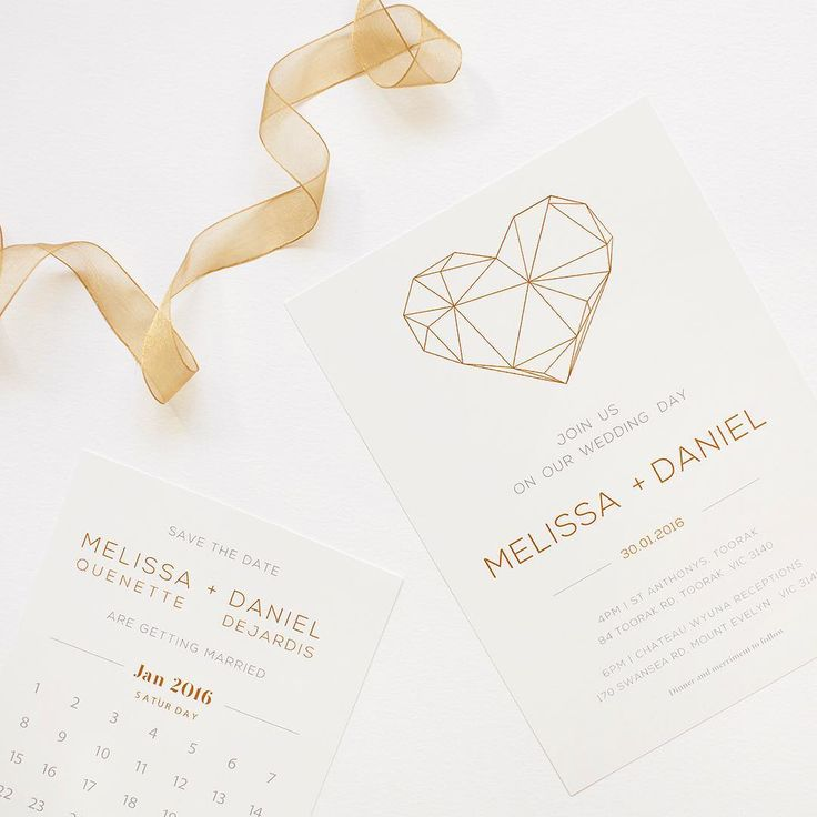 Life is just peachy! Especially when you can smuggle a big diamond love heart into your invite and claim to your partner that it's just geometric art .|  #paperlust #heart #geometric #print #weddinginvitation #weddinginspiration #metallic