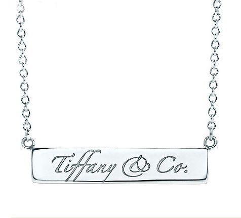Tiffany Notes Tiffany & Co. Bar Necklace #tiffany #Necklace #fashion #pretty
