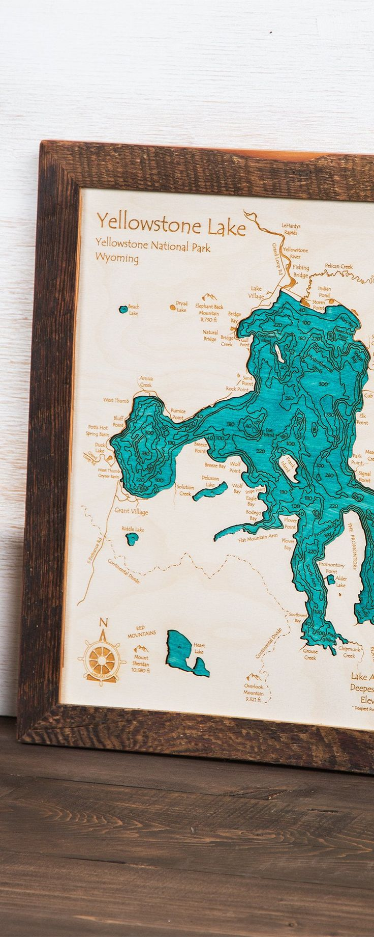 San Francisco Air Quality Map%0A Large Lake Wall Art by Lake Art