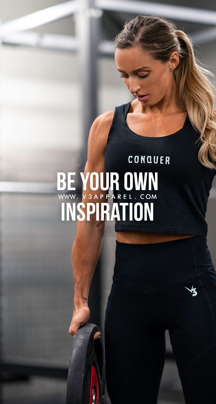 Be your own inspiration. #V3Apparel #Quotes #Motivational #Inspire #Motivate