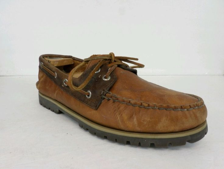 Sperry Mens Shoes Casual Top Sider Dock Boat Shoe Brown Size 9. 5 #SperryTopSider #BoatShoes