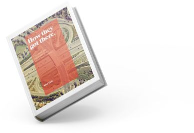 book cover: how they got there, interviews digital designers and their careers