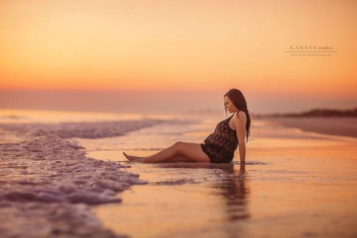 Janie's Having a Baby | an epic liquid maternity session | santa rosa beach maternity photographer | kansas studios | kansas pitts photography