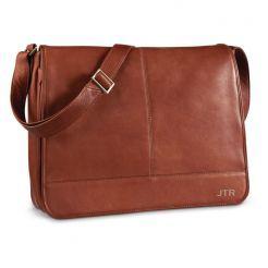 Hermosa True Messenger Bag by Mosaic™ #travel #leather #messenger #slingpack #student