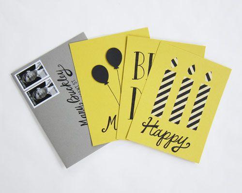 yellow, grey black bday
