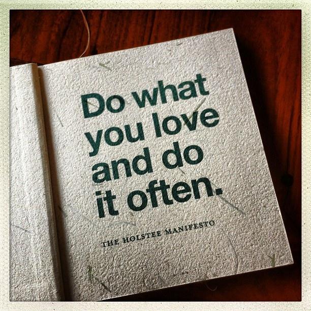 Holstee Manifesto #quote  Instagram photo by msmi | Statigram
