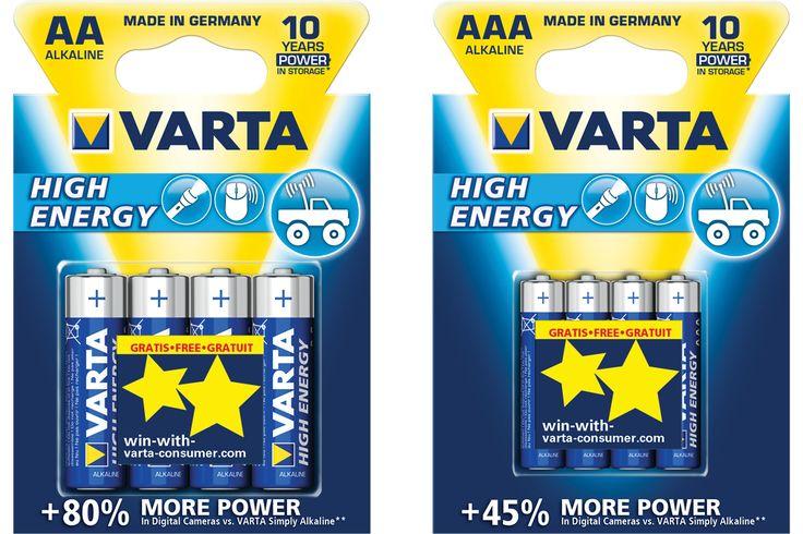 Świecące gwiazdki na sufit - gratis z bateriami VARTA <3