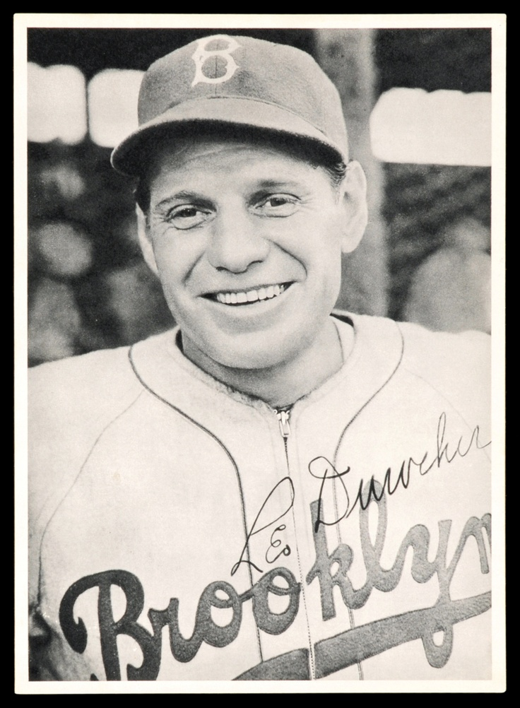 Leo Durocher, manager of the 1951 Giants that beat the Dodgers for the pennant.