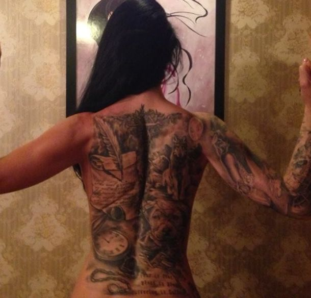 Have to work on this back! 2014 summer