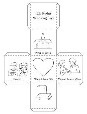 untuk anakanak sekolah minggu: kotak tentang ROH KUDUS