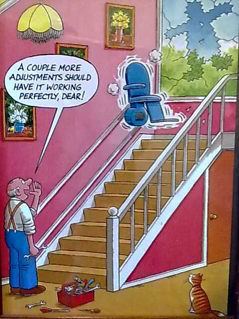 Stair Lift Ratings: On A Lighter Note 1