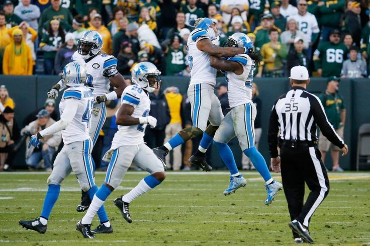 The 1-7 Detroit Lions have just beat the Green Bay Packers at Lambeau field for the first time in 24 years. WOW!