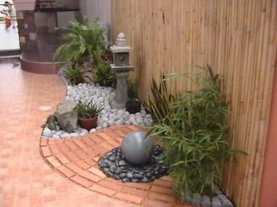 Japanese water gardens are famous for their natural beauty built in backyards of Japanese style homes.