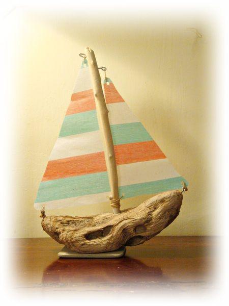 LE BATEAU con legni di mare di Tendance nature su DaWanda.com