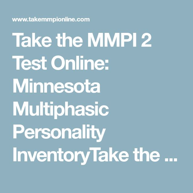The 25 best minnesota multiphasic personality inventory ideas on take the mmpi 2 test online minnesota multiphasic personality inventorytake the mmpi test online fandeluxe Image collections