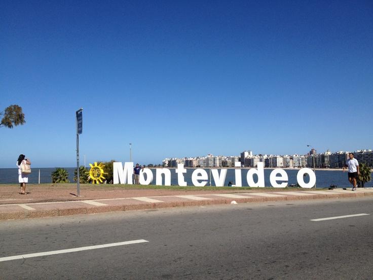 Montevideo, rambla del Kibón