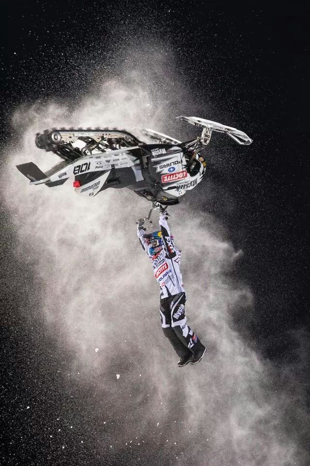 Levi LaVallee's backflip in speed n style X games 2015