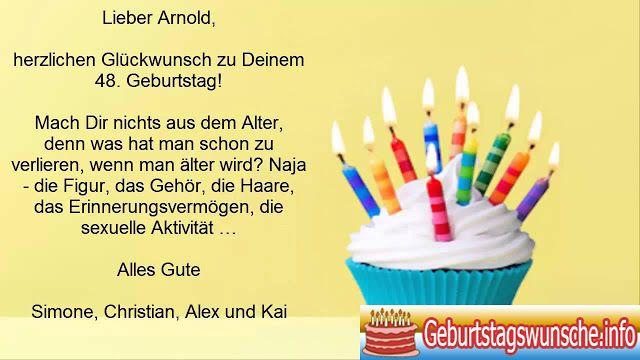 Geburtstagswünsche für den chef