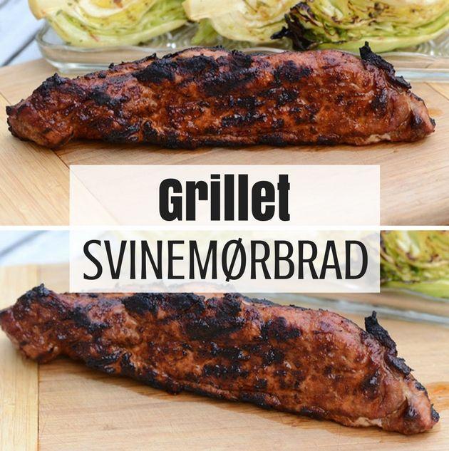 Fantastisk grillet svinemørbrad med en suveræn barbecuemarinade, der giver masser af smag til kødet.