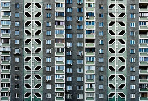 Architecture Ukraine Plattenbau housing USSR