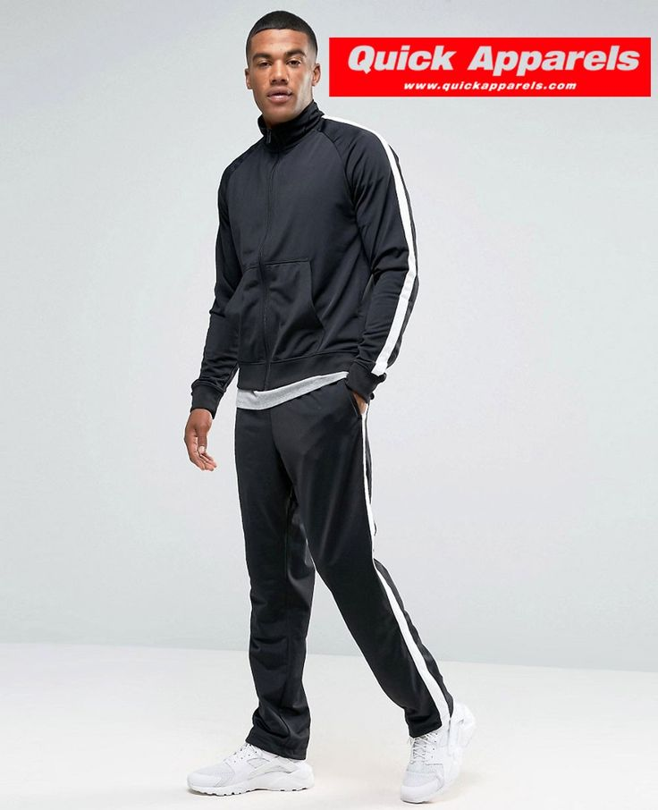 afbf6c98bf2 Men s Black Nike Tracksuit Set MF907600l