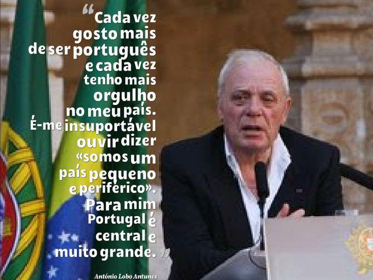 Citação de António Lobo Antunes