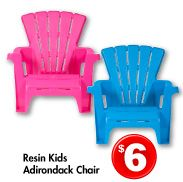 daughter 39 s resin kids adirondack chair pink 6. Black Bedroom Furniture Sets. Home Design Ideas