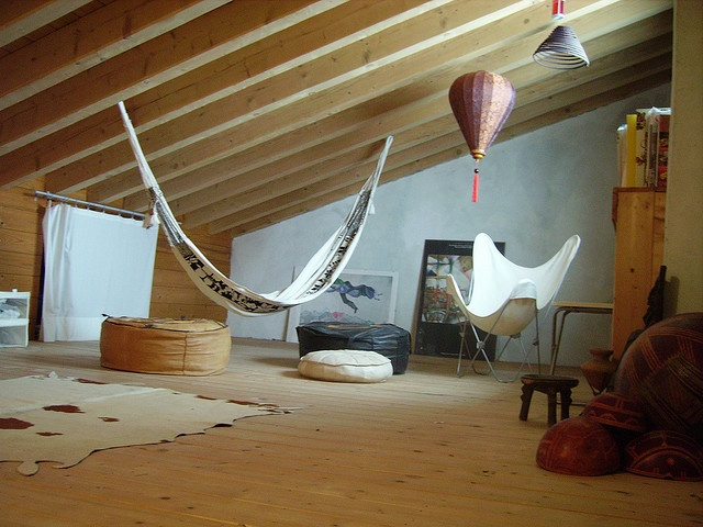 Charming Love The Idea Of An Indoor Hammock In An Upstairs Attic Space Or Down In A