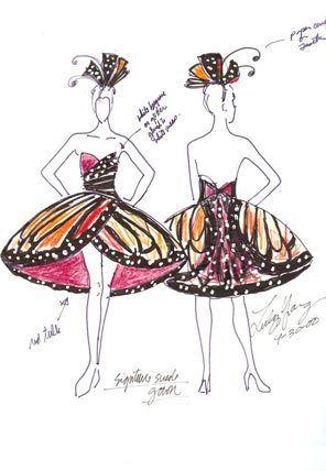 butterfly costume pattern - Google Search