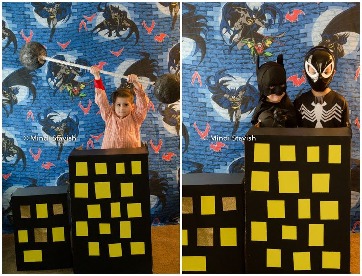 superhero backdrop for party | Superhero Birthday Party: Food, Decorations, and Activity Ideas