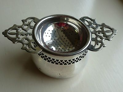 A lovely tea strainer for loose tea