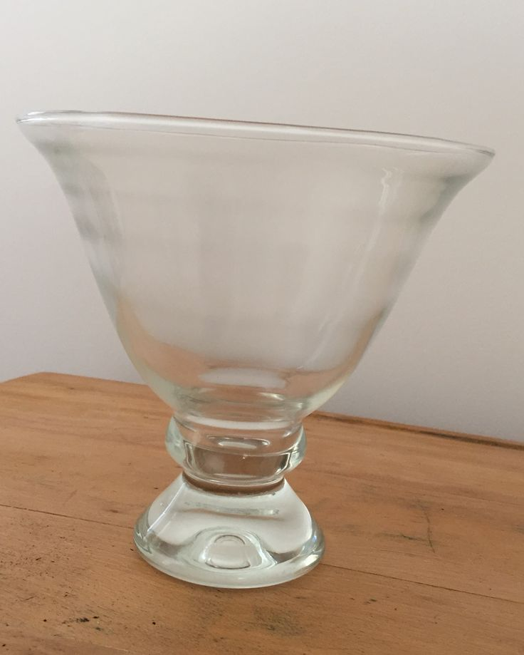 FOR SALE:  Modern Glass Compote