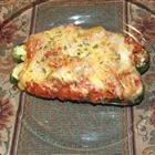 Stuffed Zucchini~~Really good and really really inexpensive to make! s.k.