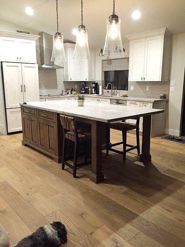 Engineered Hardwood Floor Install
