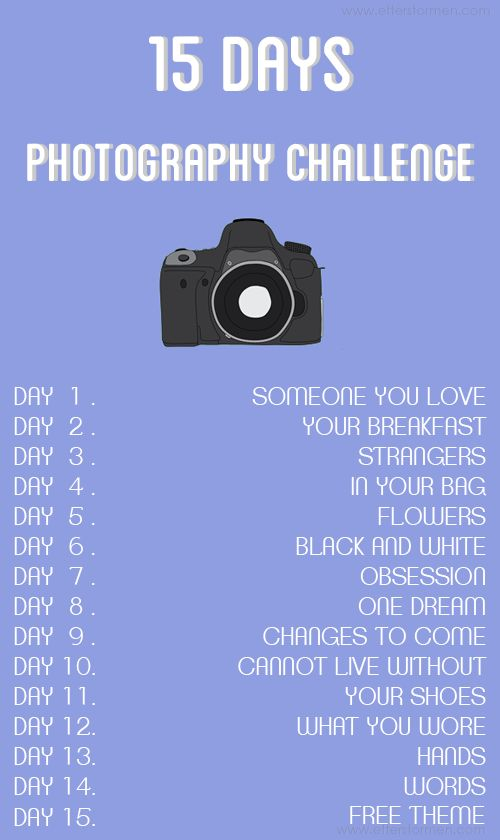 Efter Stormen Blog: Proyecto fotográfico 15 días / Photography challenge 15 days