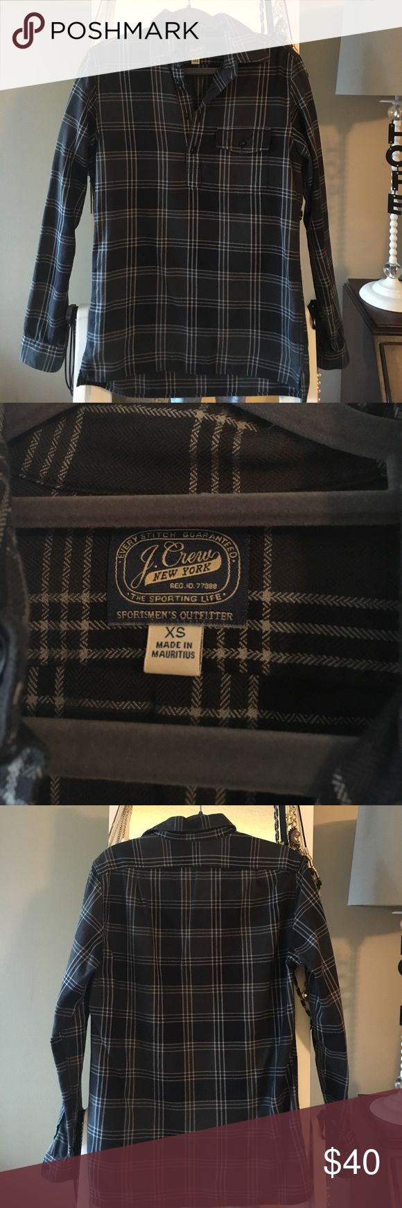 J Crew Men's XS Flannel Like new condition! Only been worn a couple times. Looks really cute on girls too with leggings or jeans! J. Crew Tops Button Down Shirts