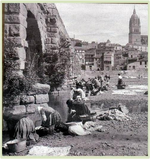 """Salamanca antigua: """"Puente Romano Salamanca"""" Forma parte de la Vía d..."""