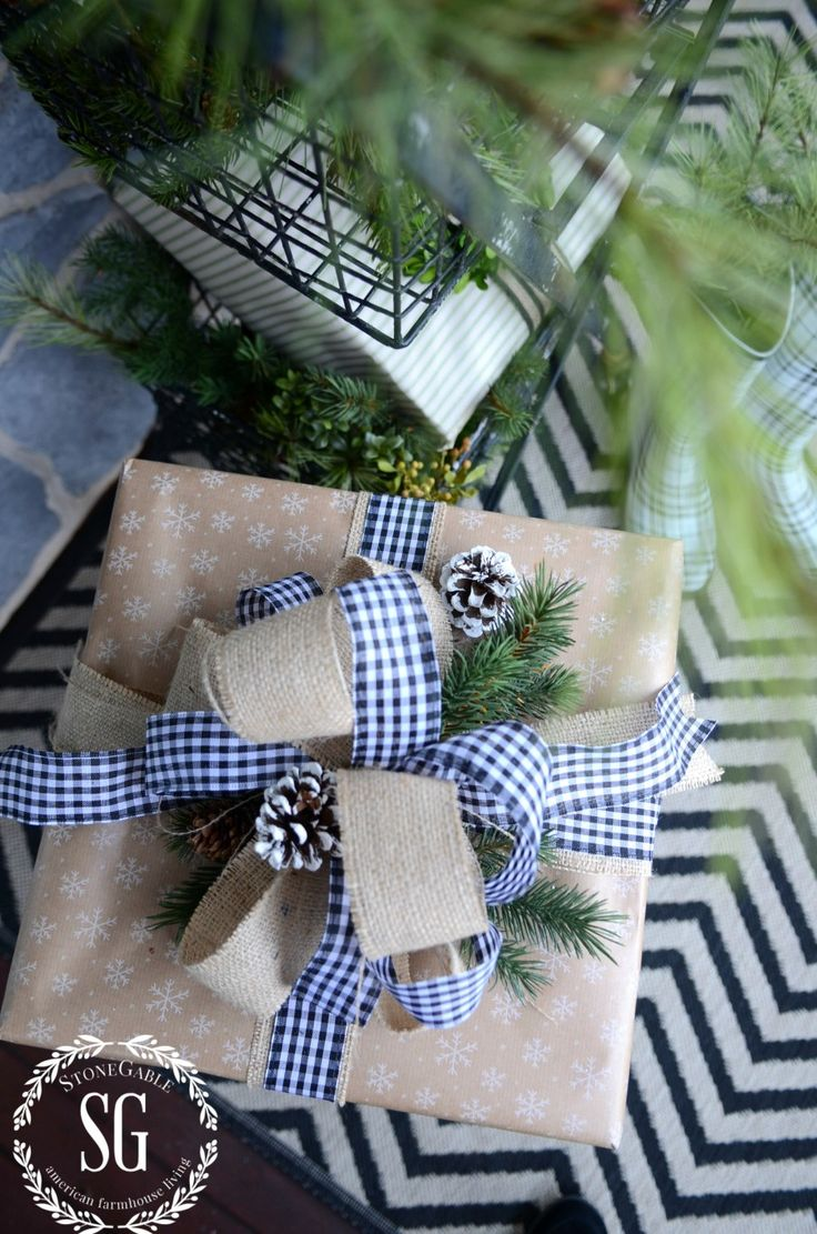 CHRISTMAS GIFT WRAP- easy and beautiful ways to wrap gifts this Christmas stonegableblog.com