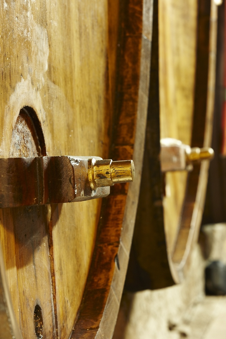 We have barrels in our cellar that are over 100 years old. You can see them for yourself when you visit the winery next on our self-guided cellar walk.